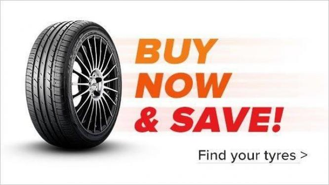 15inch , 16inch , 17inch , 18inch and 19inch TYRES FOR SALE