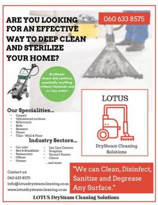 DrySteam Cleaning Services