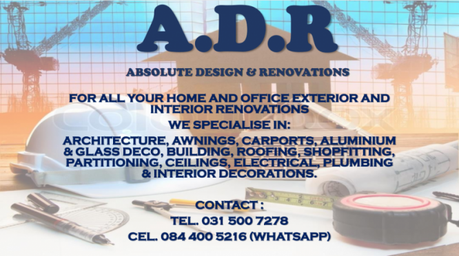 ABSOLUTE DESIGN AND RENOVATIONS