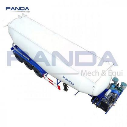 Chinese 3 axle 40 CMB lime carrier lime tank carrier lime tanker carrier with diesel enginers