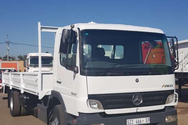 Mercedes Benz Dropside Mercedes Benz 1517 Atego Dropside Rigid Truck Truck