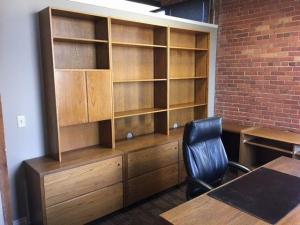 Executive Oak Office Furniture