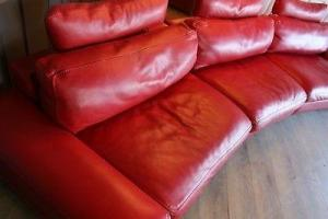 Stunning leather couch