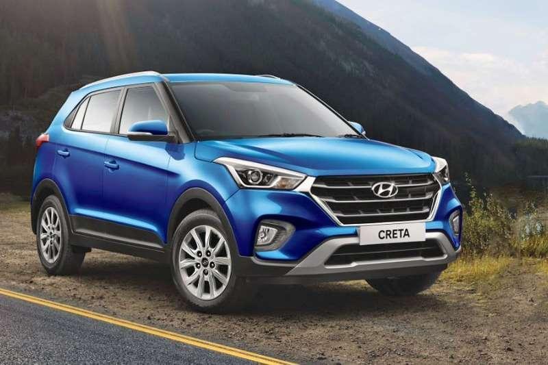 New 2018 Hyundai Creta 16 Executive Diesel At Bellville Public