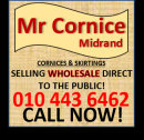 HIGH QUALITY CORNICES AT WHOLESALE PRICES SELLING DIRECT