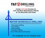 WE DRILL WATER BOREHOLES, INSTALL PUMPS AND REPAIR PUMPS
