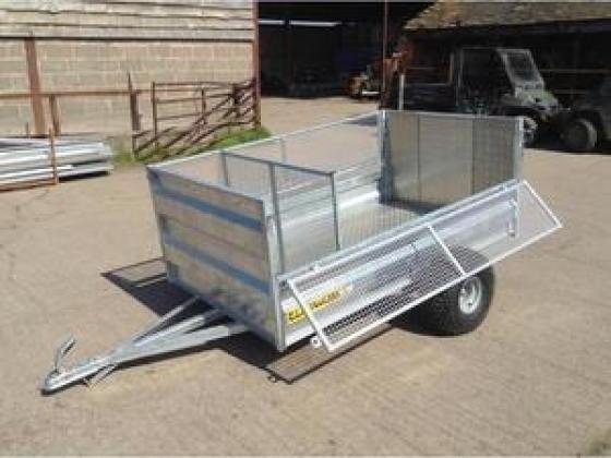Clh atv livestock trailer 7'x4' drop mesh side atv - Polokwane