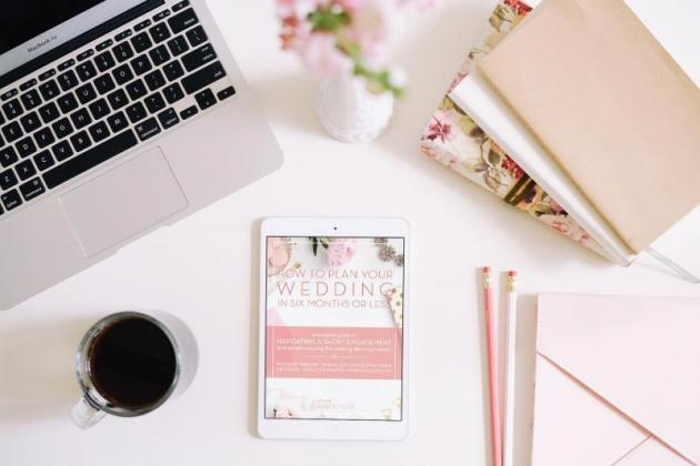 Digital Content Wedding Planner