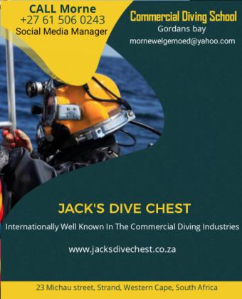 Jacks Dive Chest Commercial Dive Academy