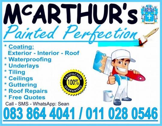 Mcarthur S Painted Perfection Pretoria East Public Ads