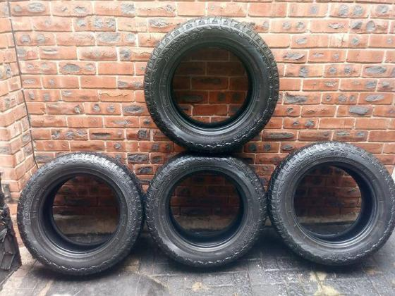 NEW 255/55R19 HANKOOK DYNAPRO A/T TYRES FOR SALE in Pinetown, KwaZulu-Natal