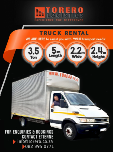4 Ton truck for hire at the...