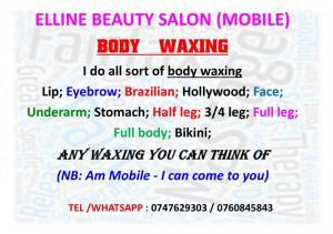 Body Waxing ; Waxing waxing...