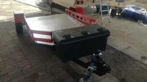 Custom airbacked trailers