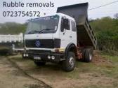 8ton tipper truck Rubble remover