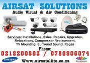 AIRCONDITIONING INSTALLATIONS SALES REPAIRS AND MAINTANANCE