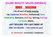 Body Waxing ; Waxing waxing (MOBILE)