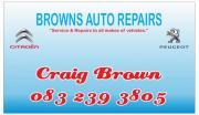 Citroen & Peugeot Specialist - Browns Auto Repairs