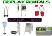 Display rentals