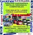 Printer Cartridges, Ink & Toners
