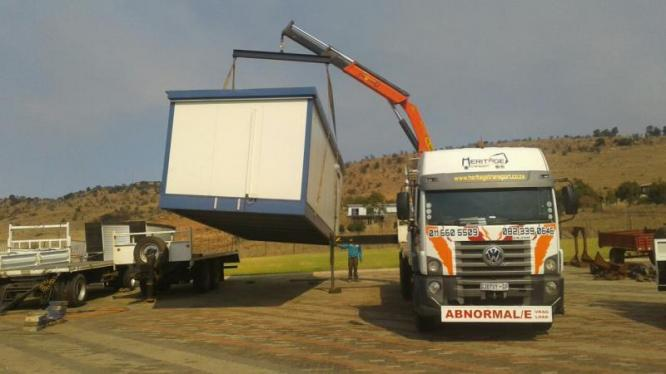 Heritage Transport crane truck hire