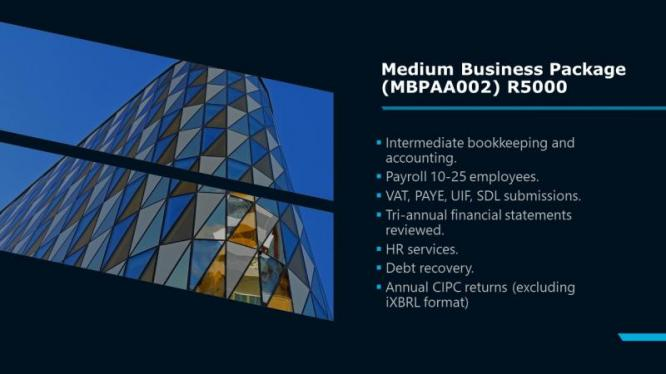 Medium Business Package Special 2019