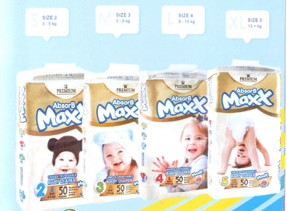 Premium Quality Nappies/Diapers and Wet Wipes