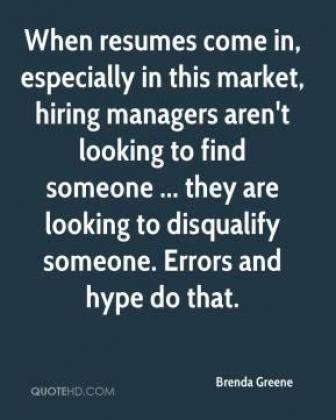 Professional CV Formatting