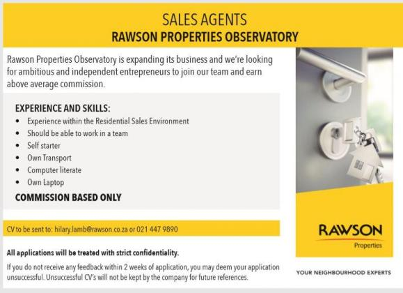 Real Estate Sales Agents in Cape Town, Western Cape