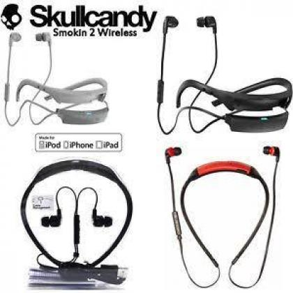 Skull candy smoking buds Bluetooth earphones
