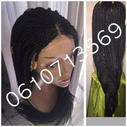 STUNNING BRAIDED AND CORNROW WIGS AND MORE
