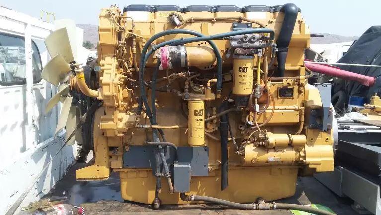 Cat C18 Engine From Atlas Copco Compressor
