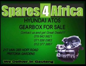 HYUNDAI ATOS GEARBOX FOR SALE USED