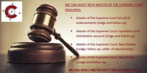 Masters Office Enquiries