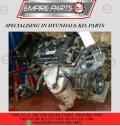 COMPLETE ENGINE - KI013 KIA PICANTO 1.0 LX 2015 G3LA - NOW AVAILABLE