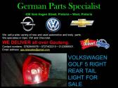 GOLF 5 RIGHT REAR TAIL LIGHT FOR SALE