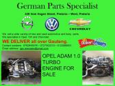 OPEL ADAM 1.0 TURBO ENGINE FOR SALE