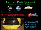 OPEL ADAM TAIL GATE FOR SALE