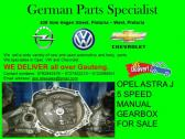 OPEL ASTRA J 5 SPEED MANUAL GEARBOX FOR SALE