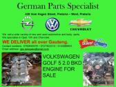 VOLKSWAGEN GOLF 5 2.0 BKD ENGINE FOR SALE