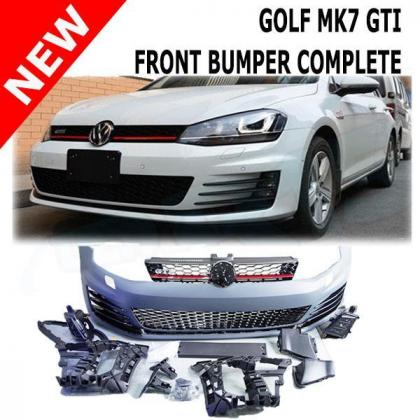 Golf 7 Front bumper complete with grill.