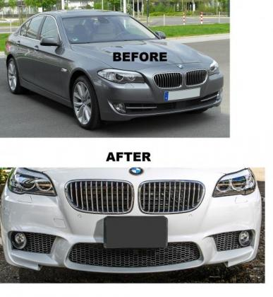 BMW F10 M5 Look Front bumper FOR A STANDARD F10