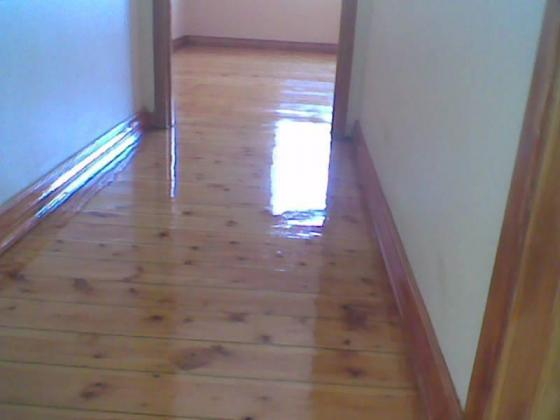 All wooden floor services