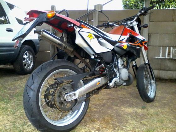 Aprilia MX supermotard