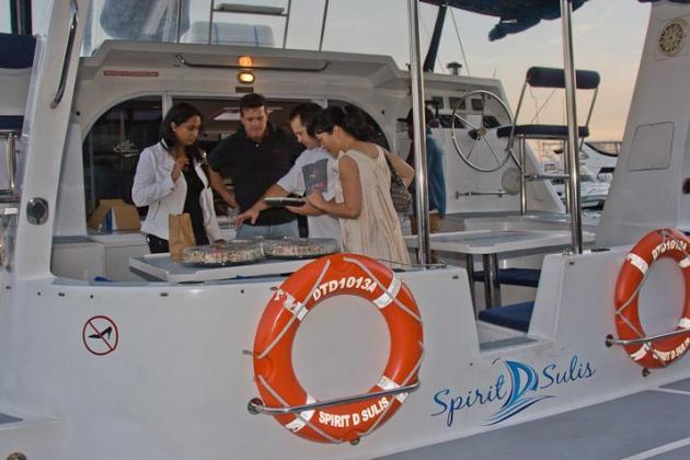 Boat cruise in Durban
