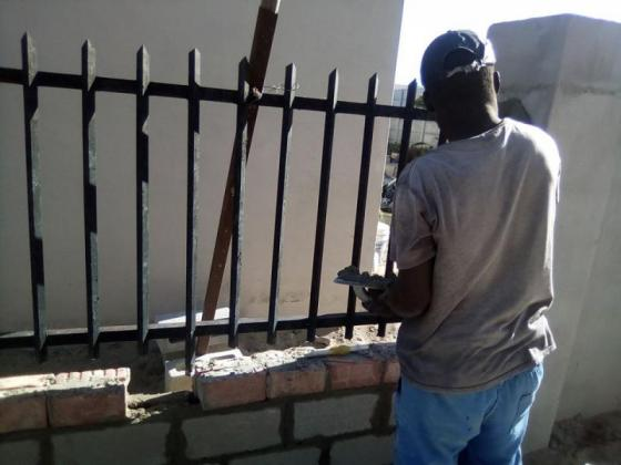 building plastering and paving
