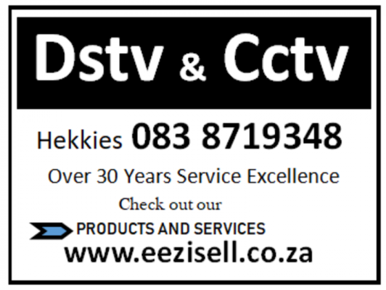 DSTV and CCTV Installations- Multichoice and OVHD accredited