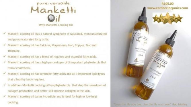 Manketti cooking oil
