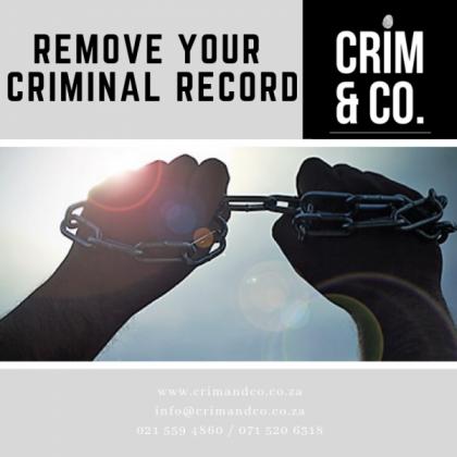 Remove / Clear criminal record