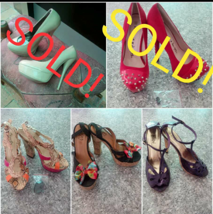 Size 3 and 4 Heels